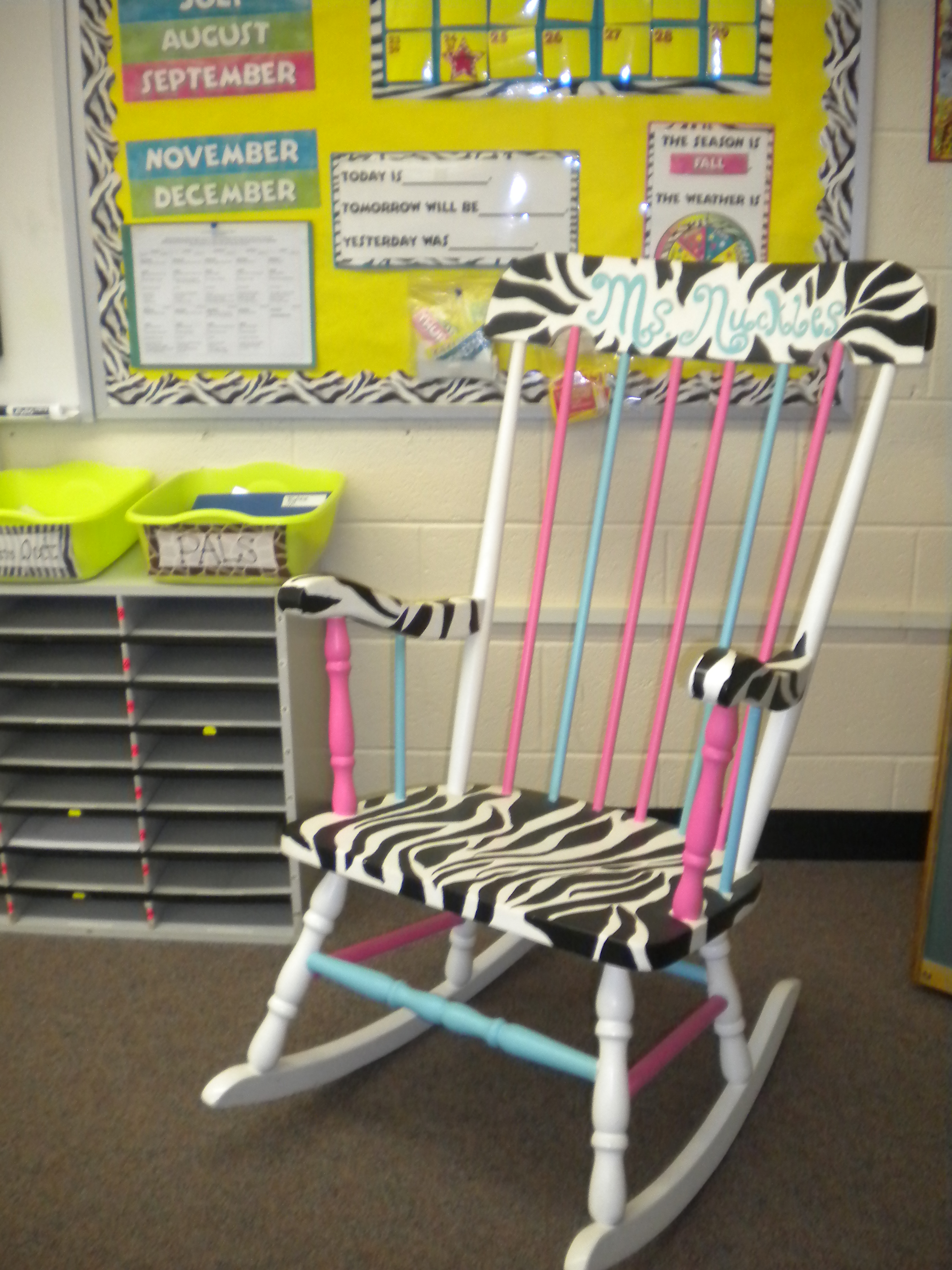 The Reading Chair SchoolgirlStyle