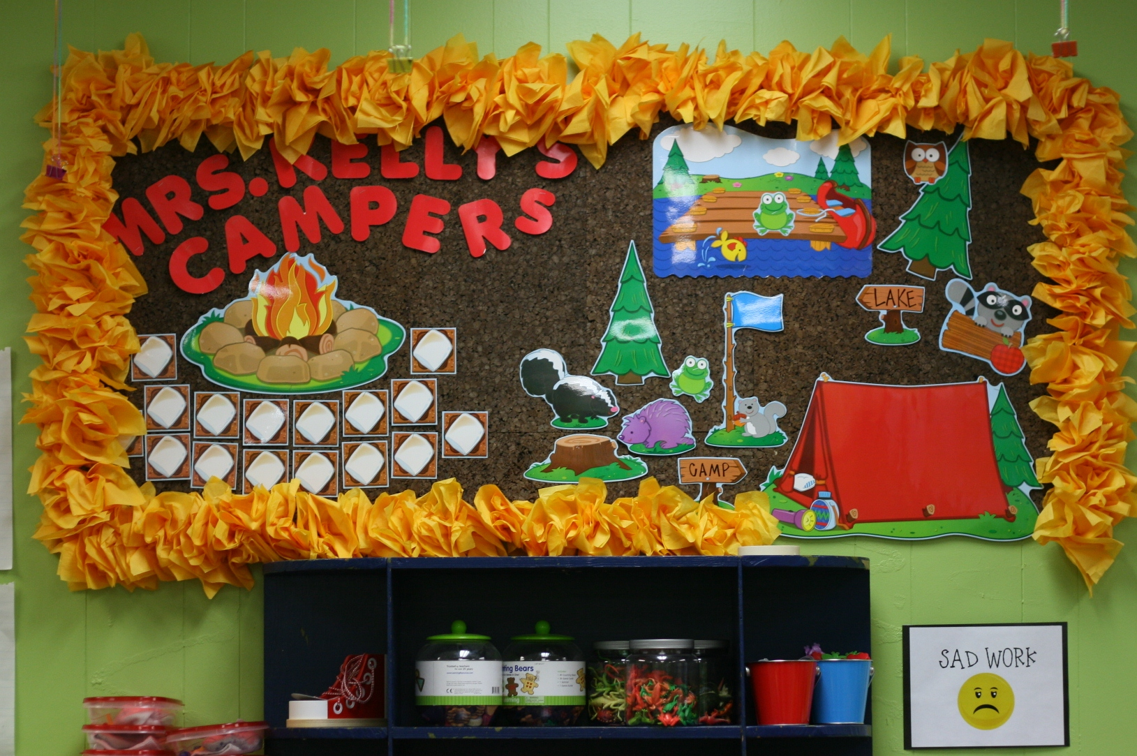 Camping Themed Classroom Decorations ~ Cute classroom inspiration whitney kelly from carlisle