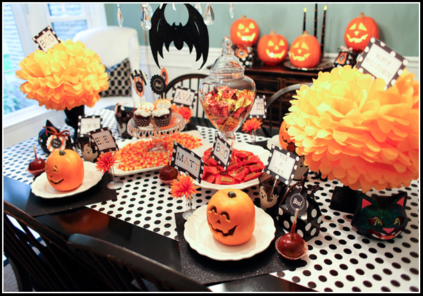 BOOtiful Dining Room! – Halloween 2011