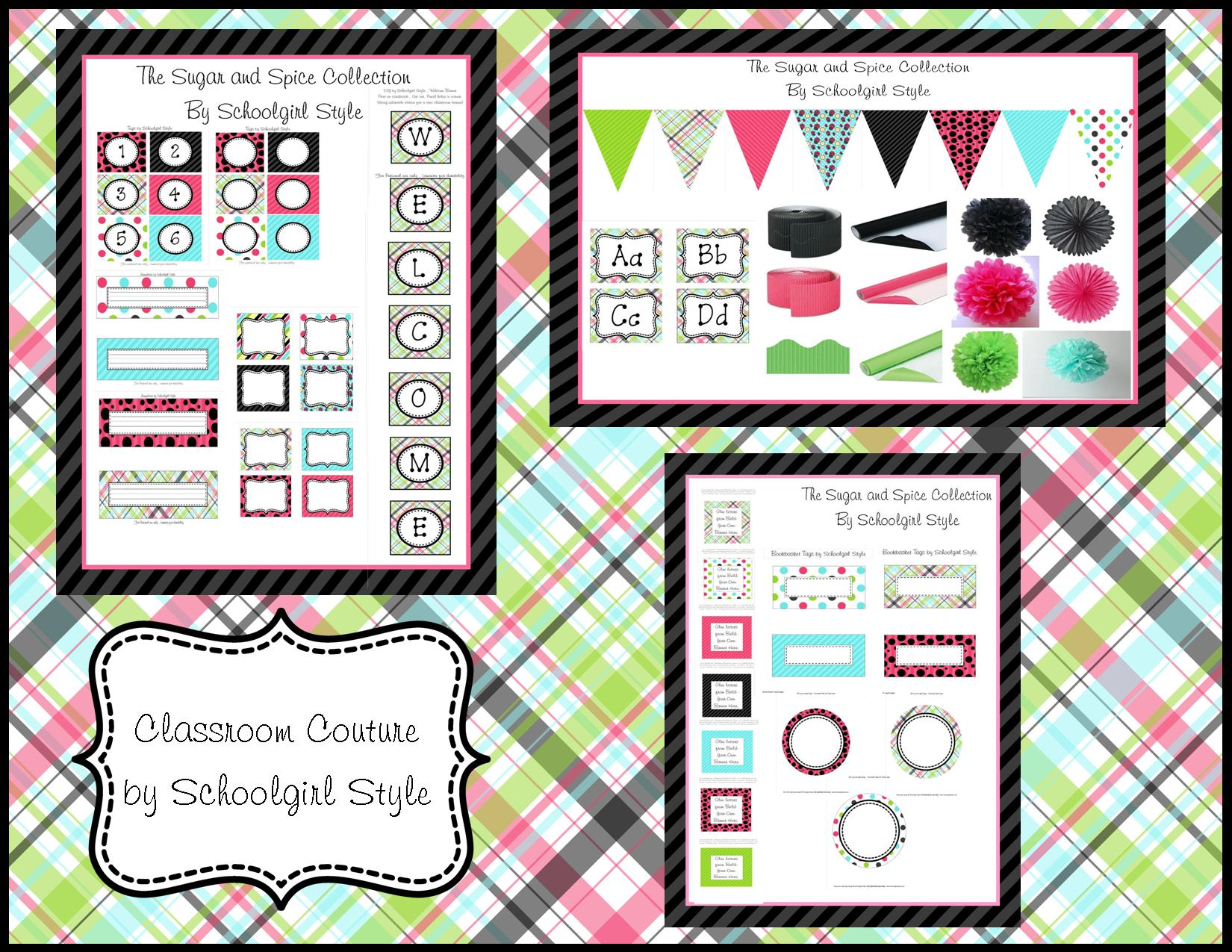 Classroom Couture by Schoolgirl Style - SchoolgirlStyle  sc 1 st  SchoolgirlStyle : ideas for classroom decorations for teachers - www.pureclipart.com