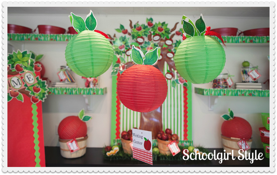 We had parties every day p j jots for Apple tree classroom decoration