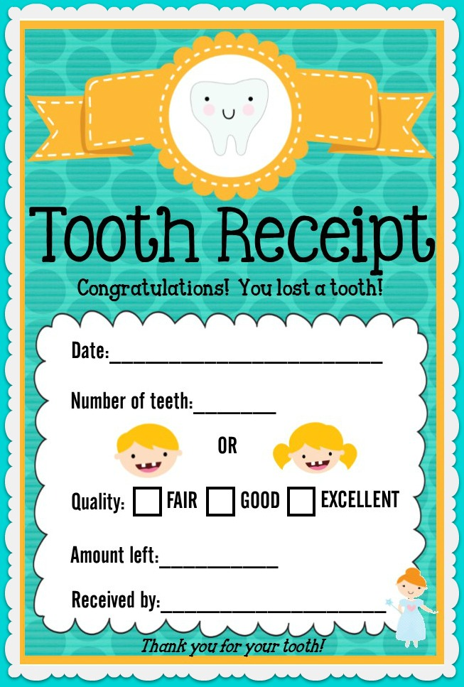 It's just an image of Challenger Tooth Fairy Letter Printable