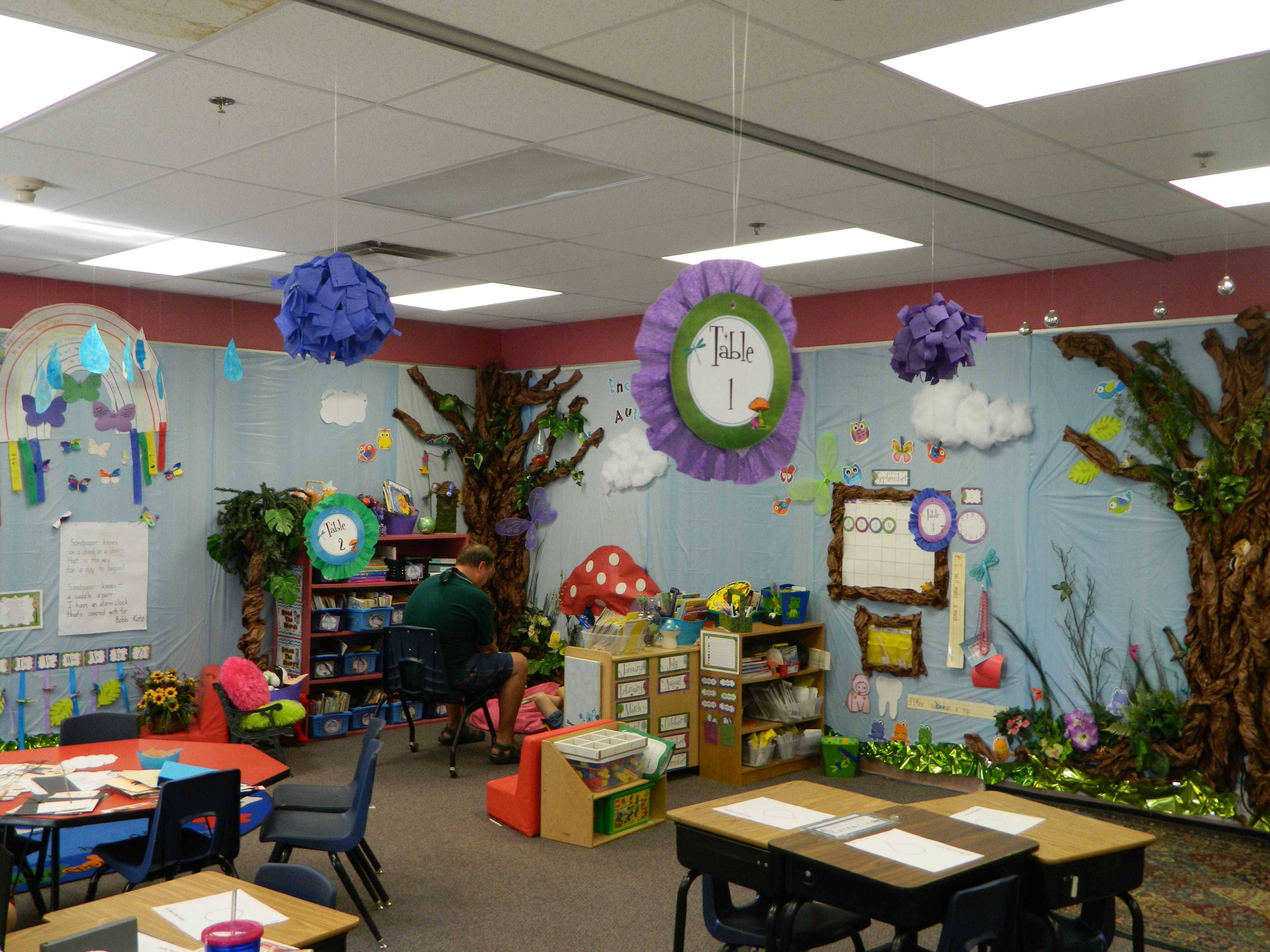 Classroom Decoration Forest ~ Enchanted forest classroom schoolgirlstyle