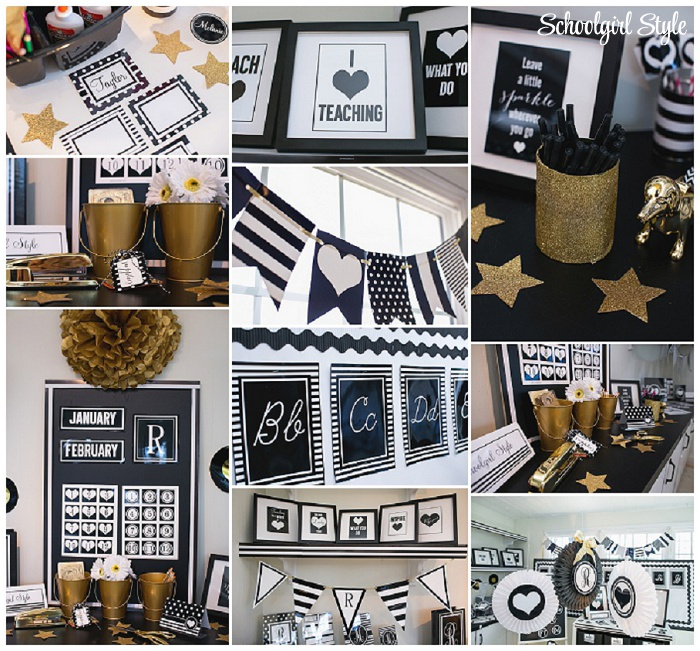 Classroom Decoration Black And White ~ Schoolgirlstyle