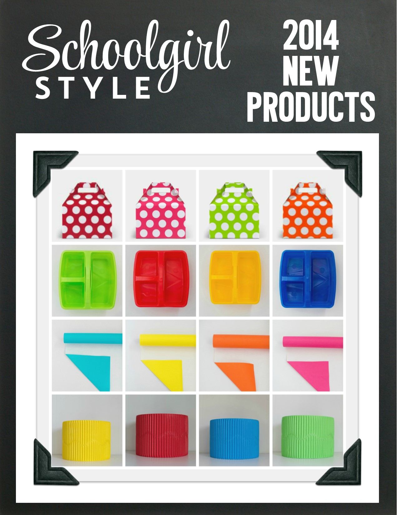 Classroom Decor Trends ~ New products by schoolgirl style