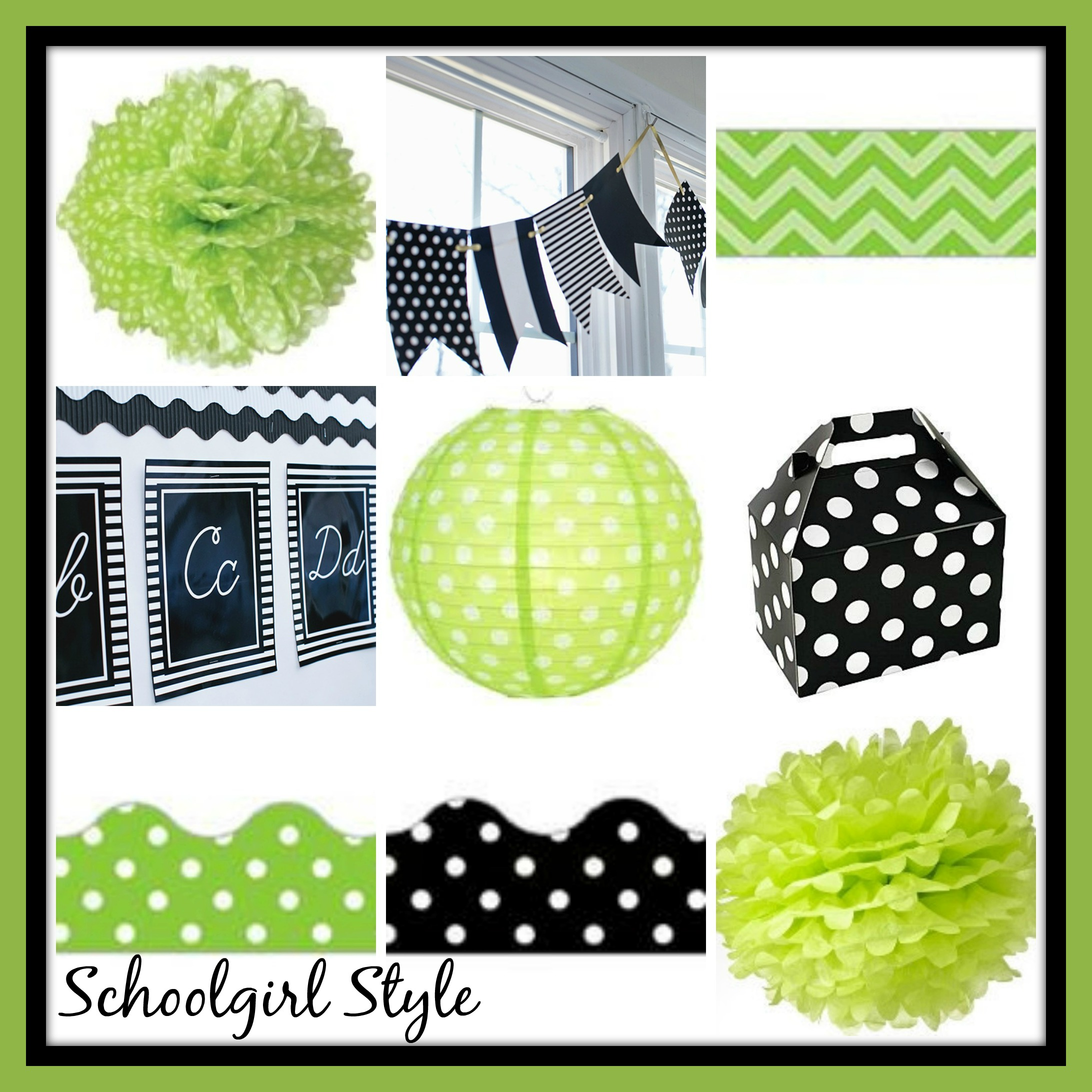 Black And White Classroom Decoration : Red turquoise classroom theme decor by schoolgirl style