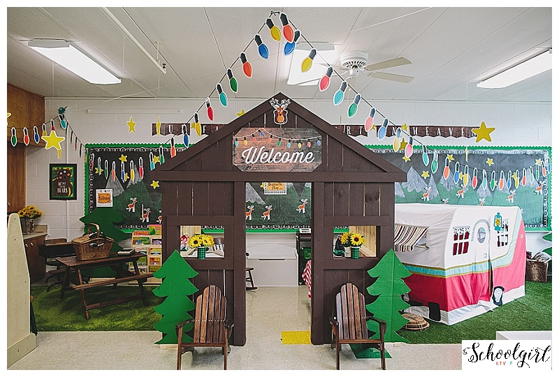 Introducing Quot Happy Camper Quot Classroom Theme