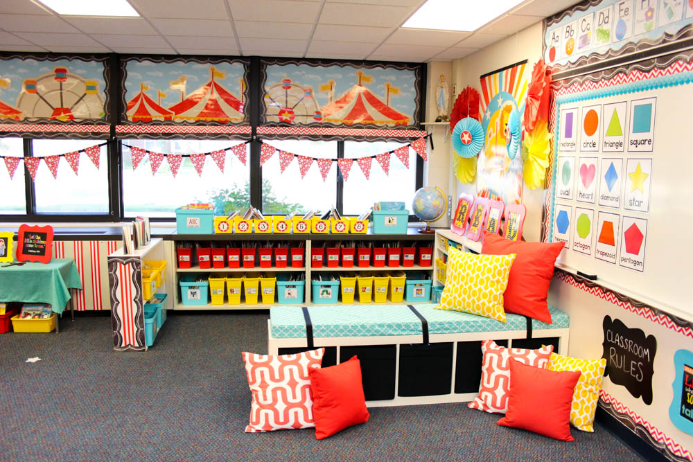 Circus Classroom Decorations ~ Quot vintage circus classroom decor collection schoolgirlstyle